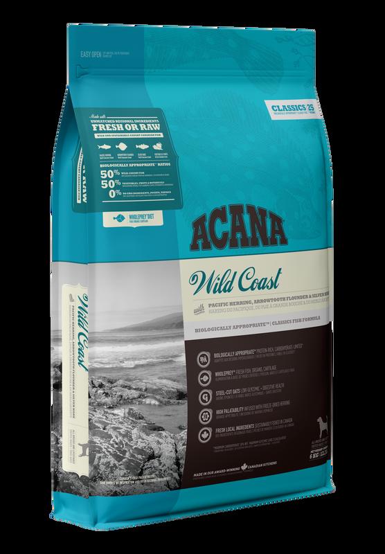 ACANA Classics Wild Coast (All Stages) 2kg