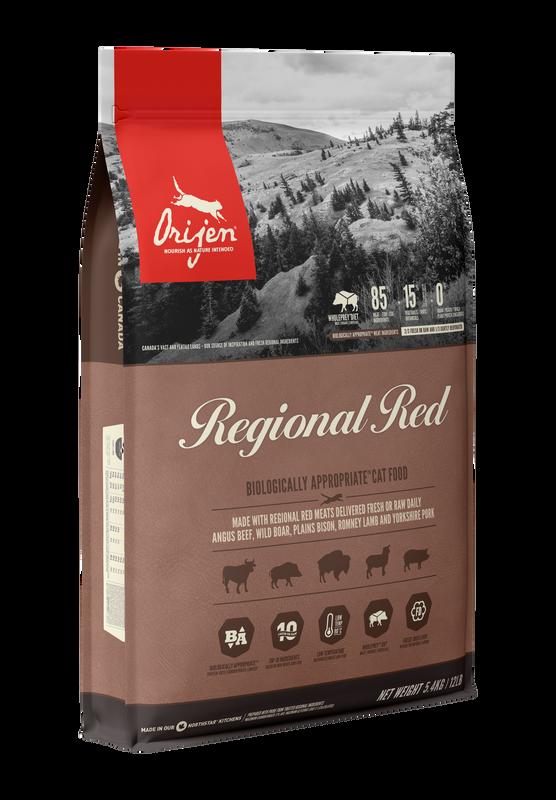 Orijen Cat Regional Red (All Stages) 1.8kg