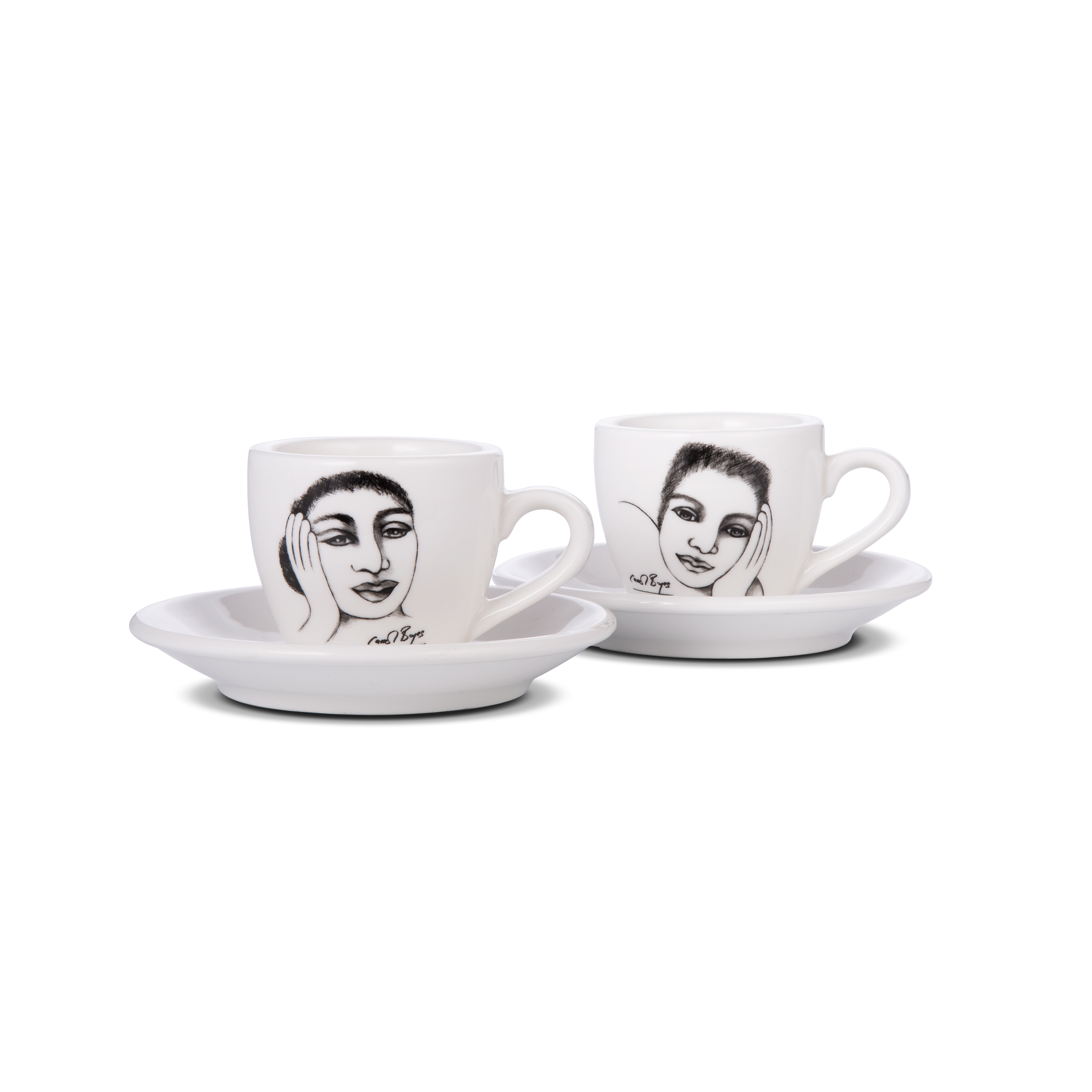 ESPRESSO CUP SET OF 2 - short and sweet
