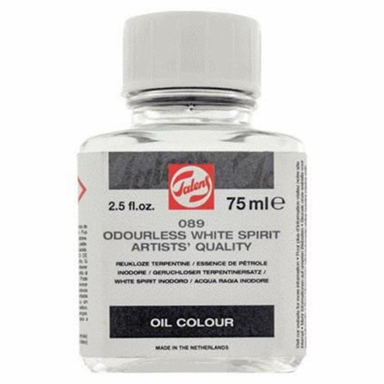 odourless white spirit oil colour