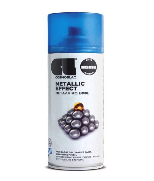 METALLIC EFFECT SPRAY BLUE 400ML (332) COSMOS LAC