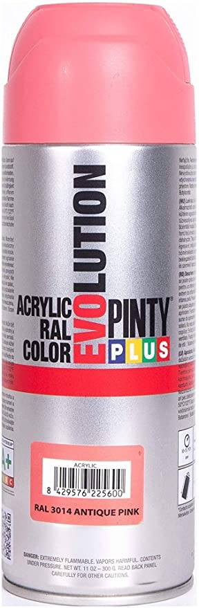 ACRYLIC PAINT SPRAY ANTIQUE PINK RAL3014 400ML PINTY PLUS