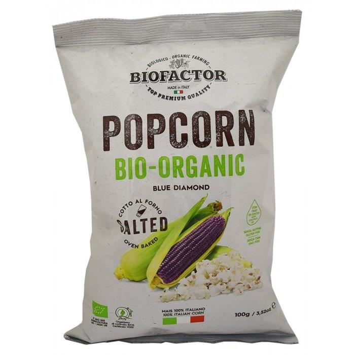 Biofactor Blue Popcorn Salted 100g