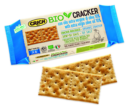 CRICH ORGANIC CRACKER -30% OF SALT