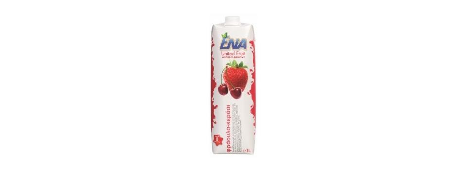 ENA United Fruit Strawberry & Cherry 0.25l
