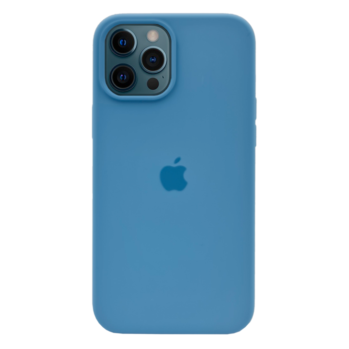 iPhone 12 Pro Silicone Case - Light Blue