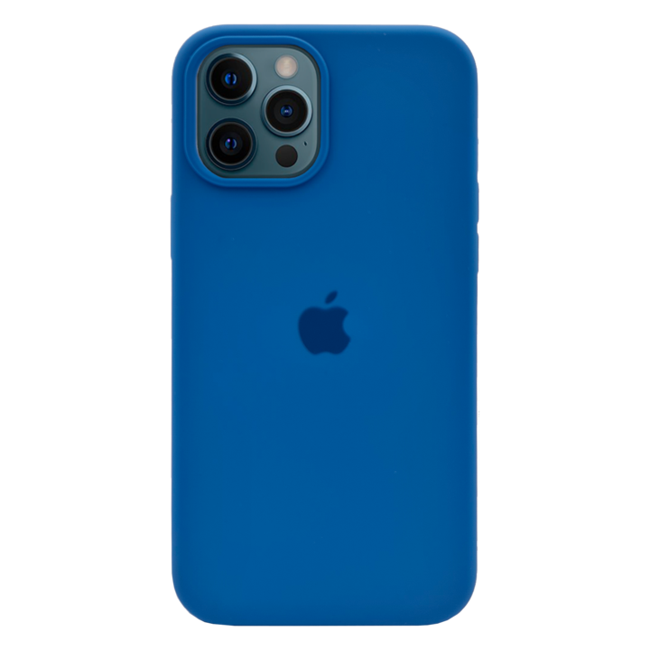 iPhone 12 Pro Silicone Case - Blue