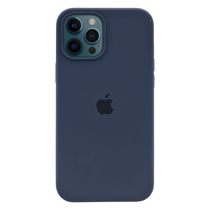 iPhone 12 Pro Silicone Case - Navy