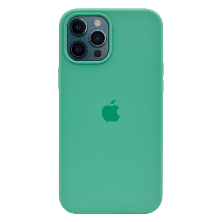 iPhone 12 Pro Silicone Case - Green