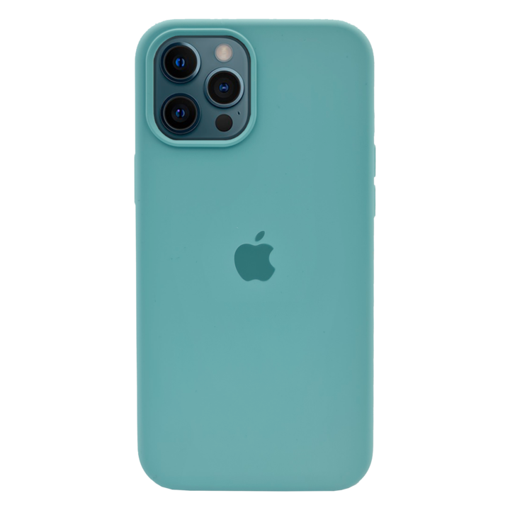 iPhone 12 Pro Silicone Case - Turquoise