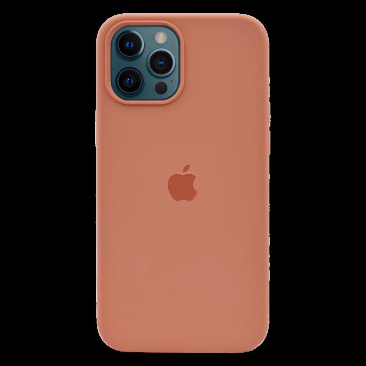 iPhone 12 Pro Silicone Case - Peach