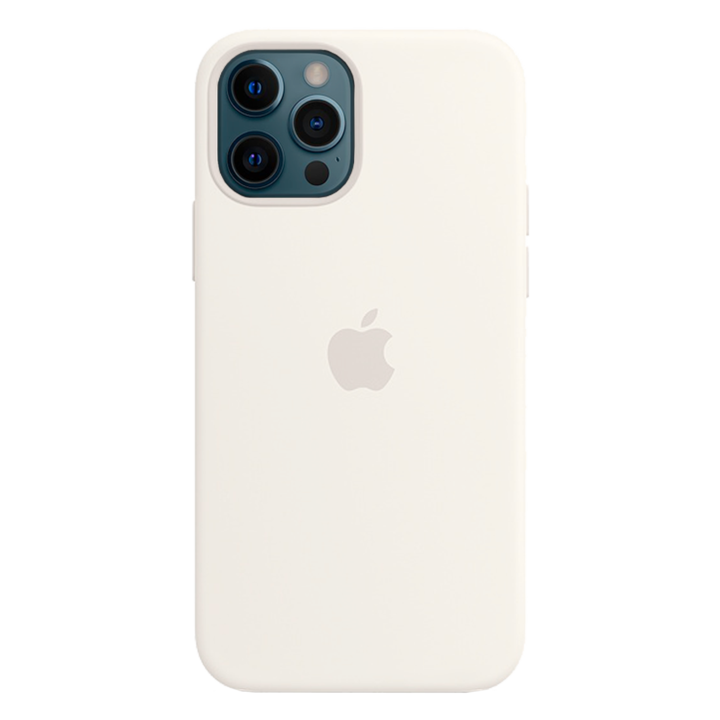 iPhone 12 Pro Silicone Case - White