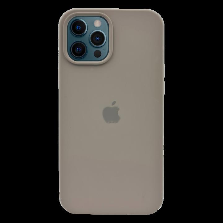 iPhone 12 Pro Silicone Case - Dark Grey