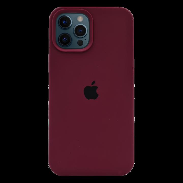 iPhone 12 Pro Silicone Case - Bordeaux