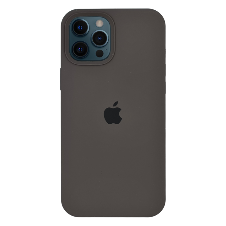 iPhone 12 Pro Silicone Case - Charcoal