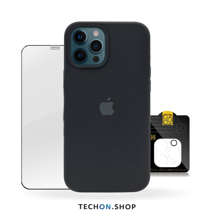 360° Protection Pack | iPhone 12 Pro - Black