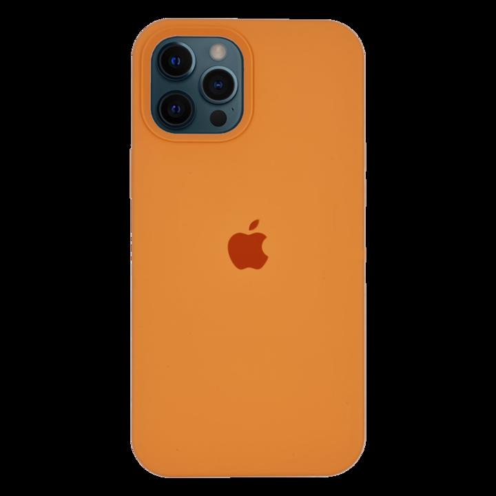 iPhone 12 Pro Silicone Case - Apricot Orange