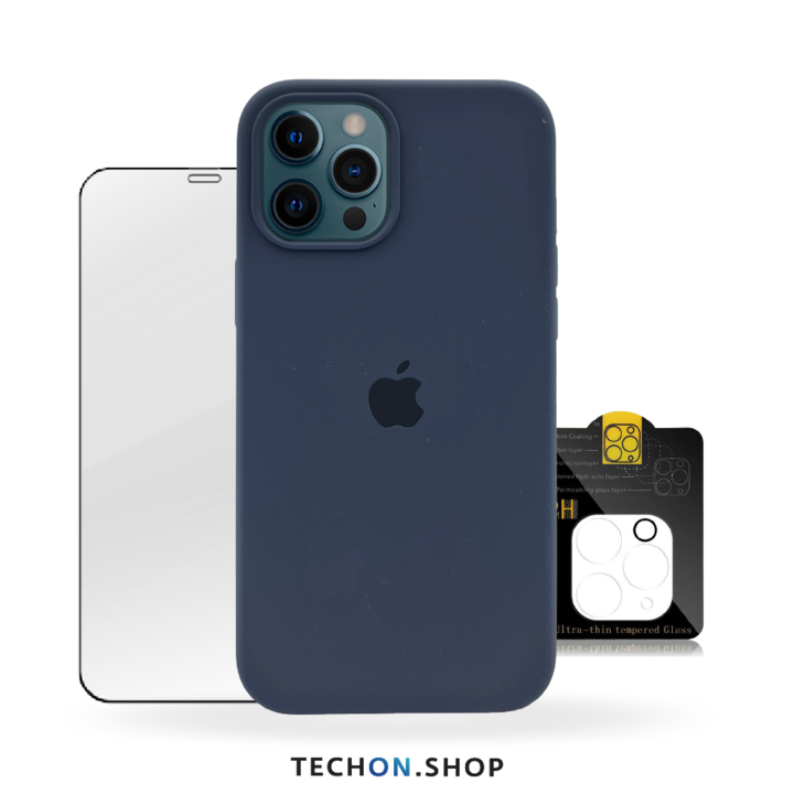 360° Protection Pack | iPhone 12 Pro - Navy