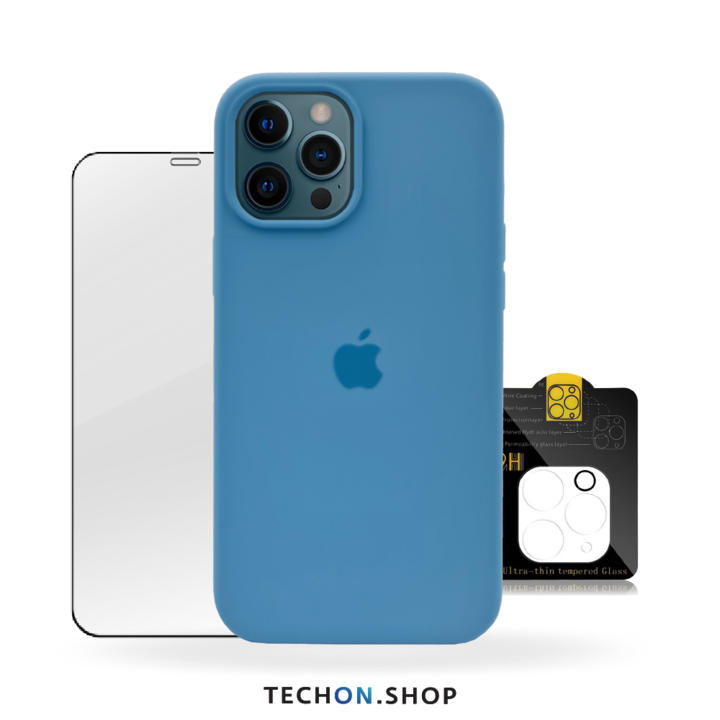 360° Protection Pack | iPhone 12 Pro - Light Blue