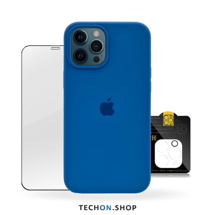 360° Protection Pack | iPhone 12 Pro - Blue