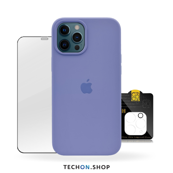 360° Protection Pack | iPhone 12 Pro - Purple