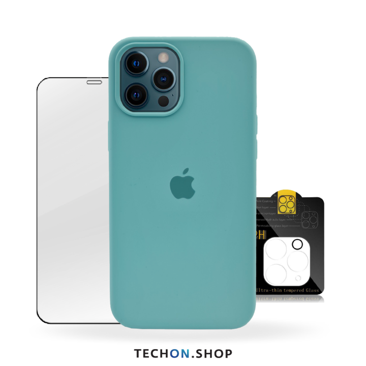 360° Protection Pack | iPhone 12 Pro - Turquoise