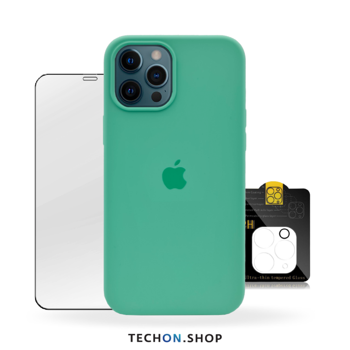360° Protection Pack | iPhone 12 Pro - Green