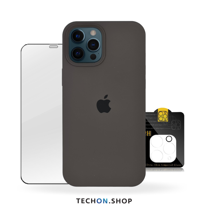 360° Protection Pack | iPhone 12 Pro - Charcoal