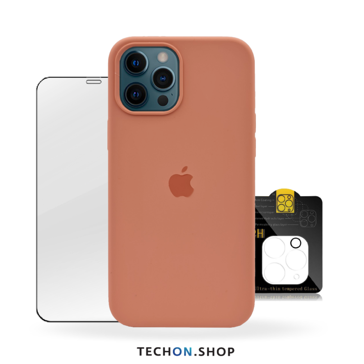 360° Protection Pack | iPhone 12 Pro - Peach