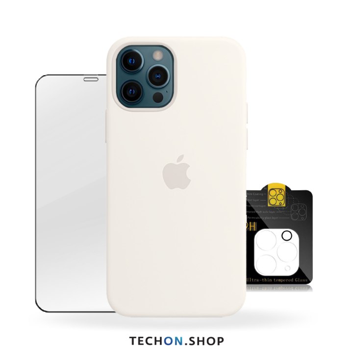 360° Protection Pack | iPhone 12 Pro - White