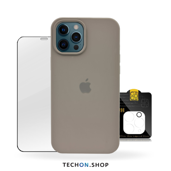 360° Protection Pack | iPhone 12 Pro - Dark Grey