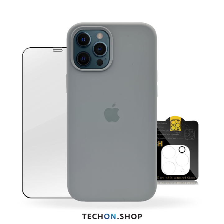 360° Protection Pack | iPhone 12 Pro - Grey
