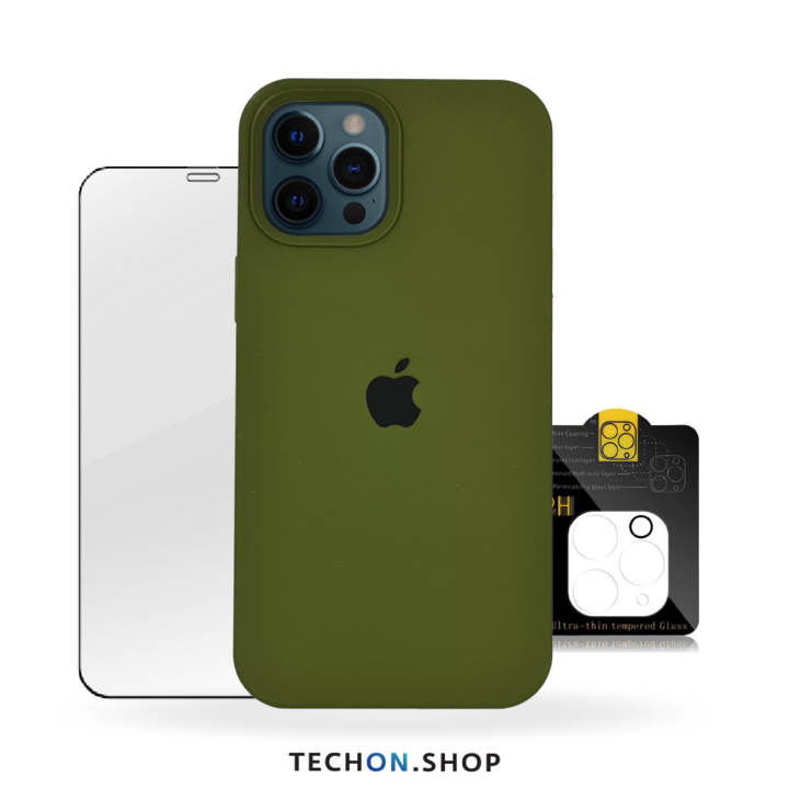 360° Protection Pack | iPhone 12 Pro - Army Green