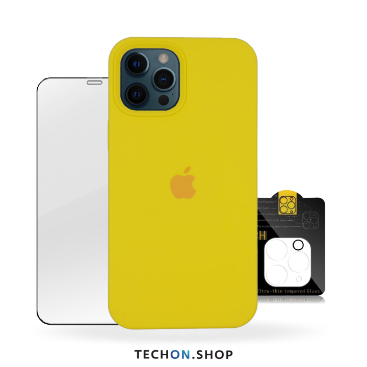 360° Protection Pack | iPhone 12 Pro - Yellow