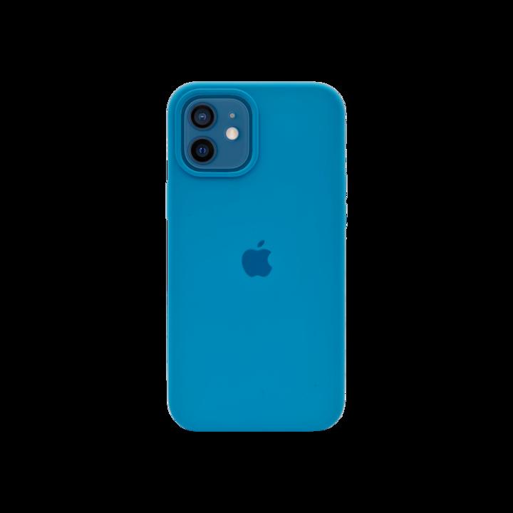 iPhone 12 mini Silicone Case - Bright Blue