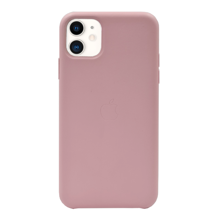 iPhone 11 Leather PU Case - Pink