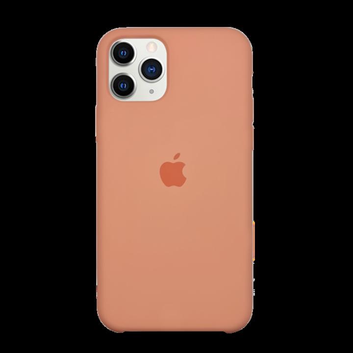 iPhone 11 Pro Silicone Case - Peach