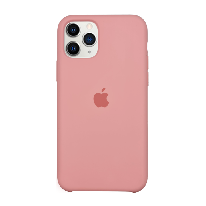 iPhone 11 Pro Silicone Case - Pink Beige