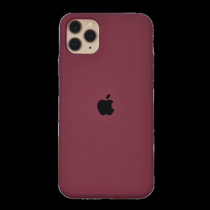 iPhone 11 Pro Silicone Case - Bordeaux