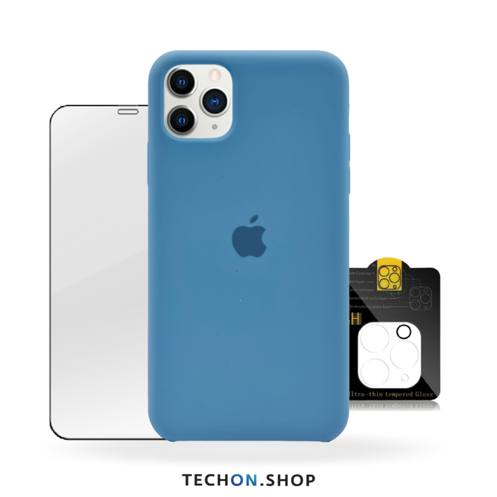 360° Protection Pack | iPhone 11 Pro - Light Blue