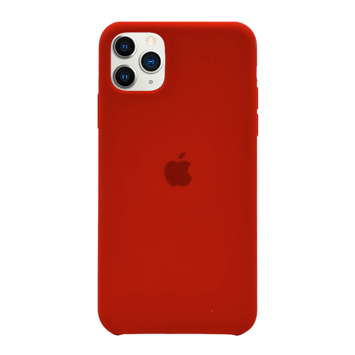 iPhone 11 Pro Silicone Case - Red