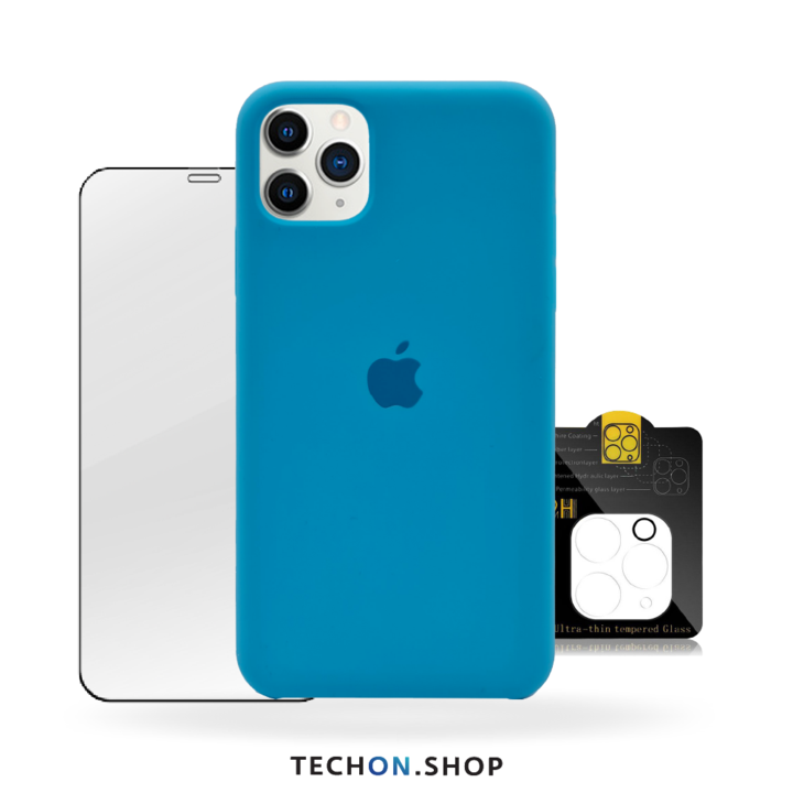 360° Protection Pack | iPhone 11 Pro - Bright Blue
