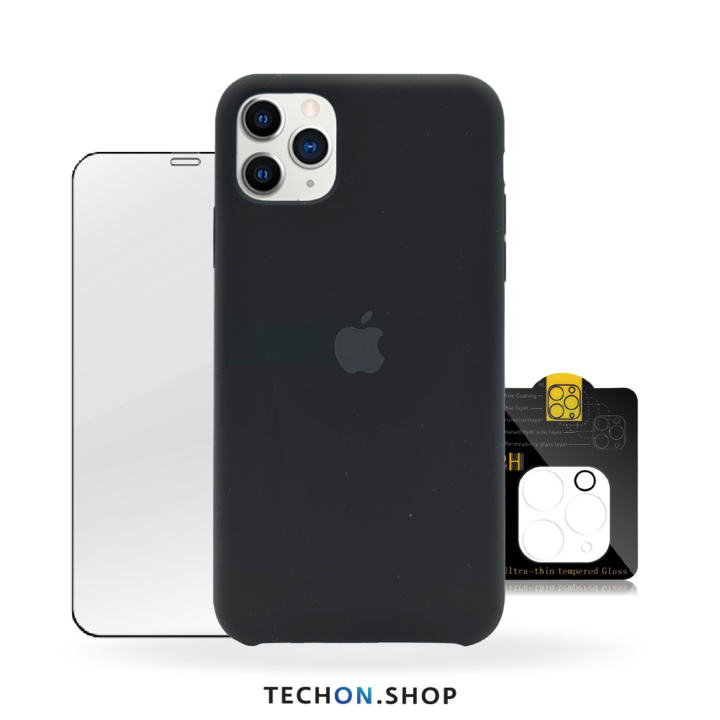 360° Protection Pack | iPhone 11 Pro - Black