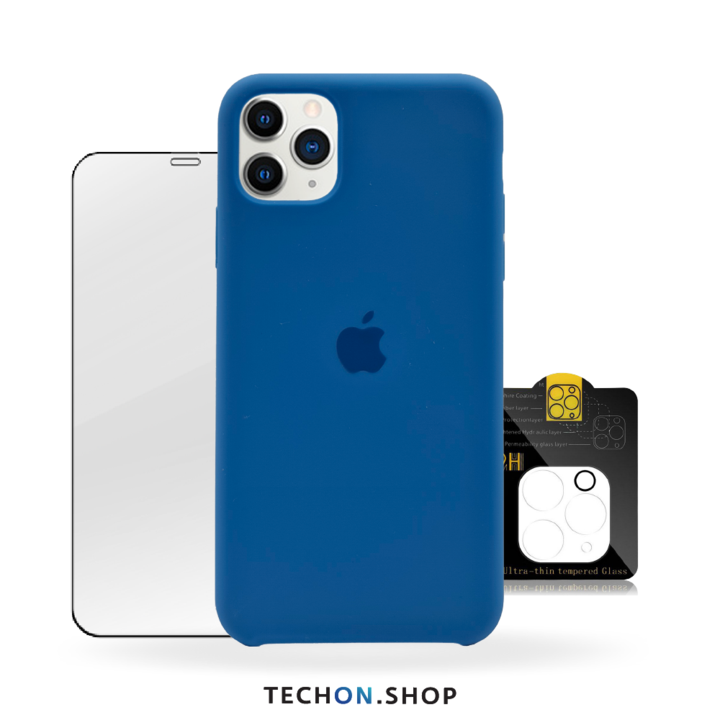 360° Protection Pack | iPhone 11 Pro - Blue
