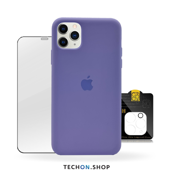 360° Protection Pack | iPhone 11 Pro - Purple