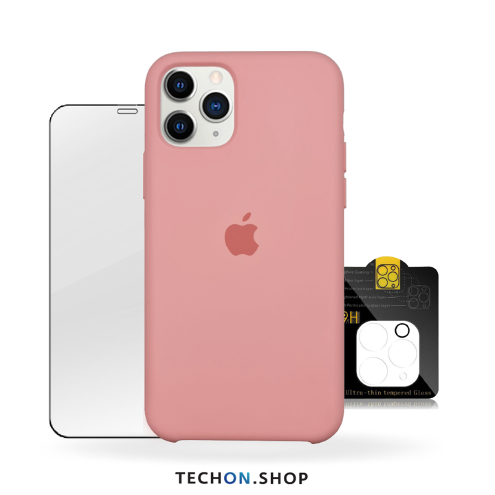 360° Protection Pack | iPhone 11 Pro - Pink Beige