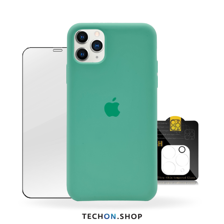 360° Protection Pack | iPhone 11 Pro - Green