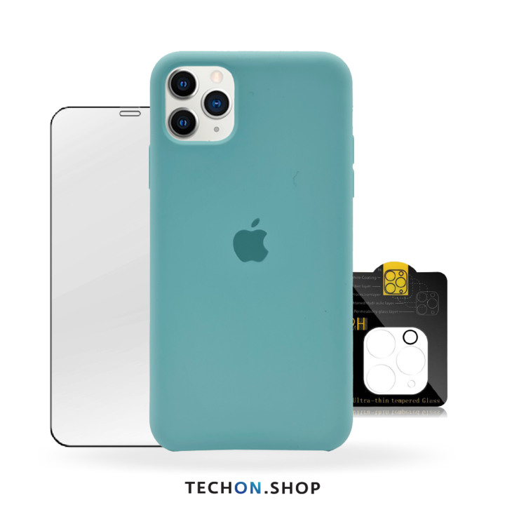 360° Protection Pack | iPhone 11 Pro - Turquoise