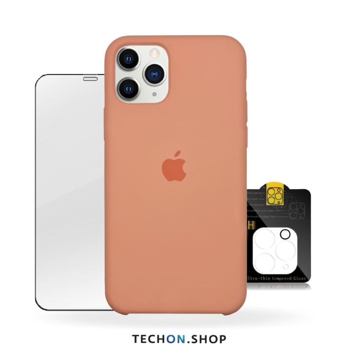 360° Protection Pack | iPhone 11 Pro - Peach