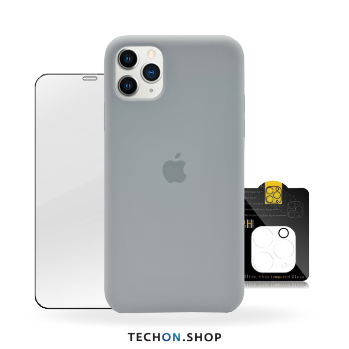 360° Protection Pack | iPhone 11 Pro - Grey